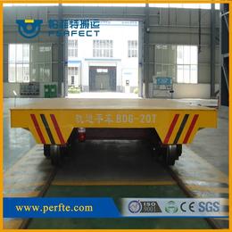 工业设备车间运输搬运车低压轨道电动平车