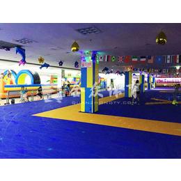 全众体育轮滑场悬浮式运动拼装地板 聚丙烯材料防滑耐磨拼装地板缩略图