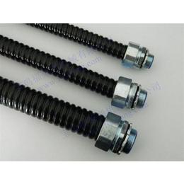 福莱通FSP型波纹状包塑金属软管 防水防尘防鼠咬 金属蛇皮管