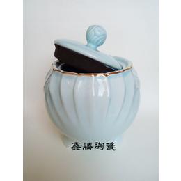 供应陶瓷茶叶罐 鑫腾陶瓷蜂蜜罐 厂家批发 大量直销