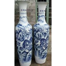 供应景德镇陶瓷大花瓶 青花瓷大花瓶 手工大花瓶直销