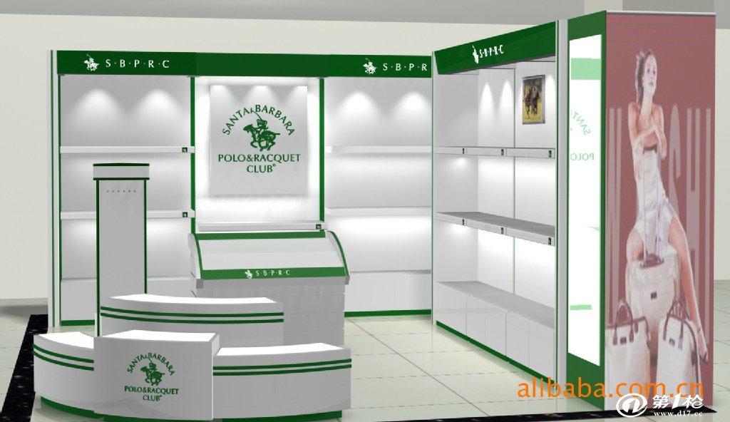 专业设计 制作展示柜 小皮件柜