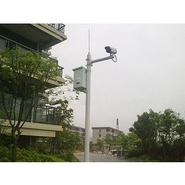 重庆监控立杆 3米5米小区立杆 枪机球机立杆定做厂家