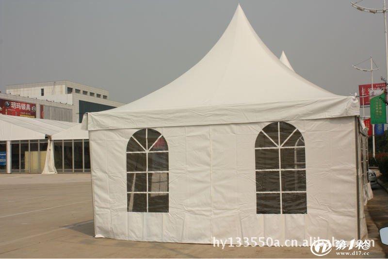 专业户外帐篷 展览帐篷 尖顶帐篷 欧式钢铝结构 安装便捷