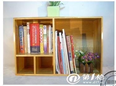 儿童书架实木小书柜子自由组合收纳置物储物柜简易书柜格子柜桌上