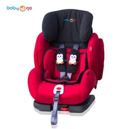 英国babygo汽车儿童安全座椅领航员玛丽皇后红