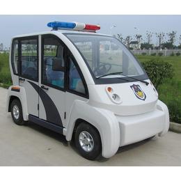 重庆公园 封闭社区巡逻4座封闭式电动巡逻车报价