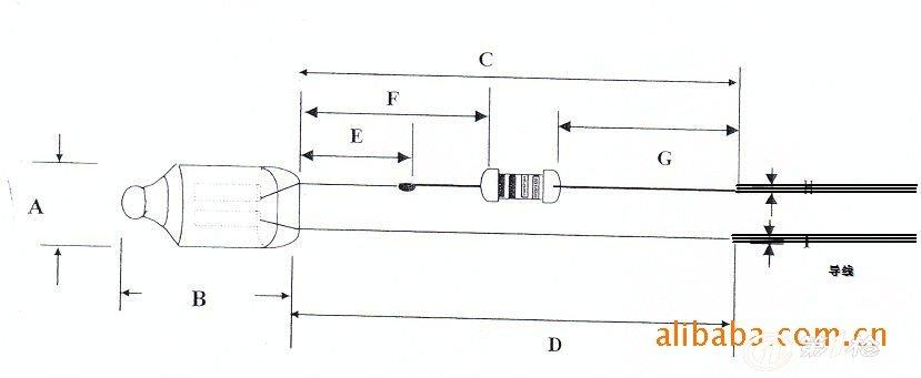 氖灯 氖灯指示灯 led指示灯 指示氖泡 氖泡组件