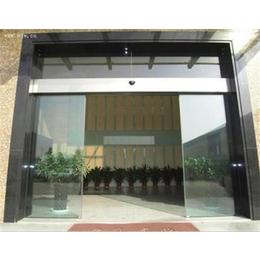 东莞市塘厦镇感应玻璃门 感应玻璃门电机 安装自动门(多图)