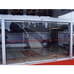 东莞横沥镇感应玻璃门、安装感应门(优质商家)、感应玻璃门安装