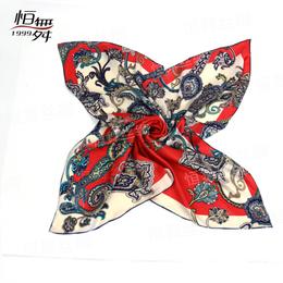 三八节恒舞丝绸丝巾厂家陪你过个不一样的女王节