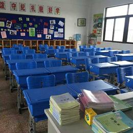 亚博平台网站双人学生课桌椅塑钢学校写字台学习桌 缩略图