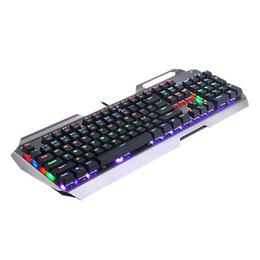 虹龙K320机械键盘背光彩色键盘全键插拔 青轴