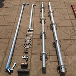 盘扣式脚手架主要采用345B钢管双面热度锌技术使用长久