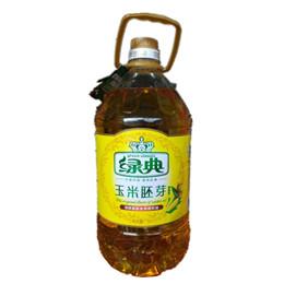 绿典玉米胚芽调和油5L
