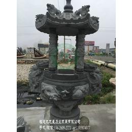 寺庙石雕香炉 佛堂石雕香炉 福建石香炉