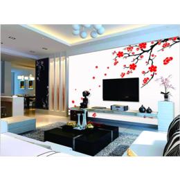 厂家直销现代电视背景墙壁画环保防水定制壁纸