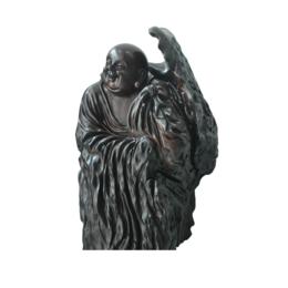 古沉木雕刻艺术JXLYQ00041 笑佛