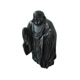 古沉木雕刻艺术JXLYQ00058 笑佛