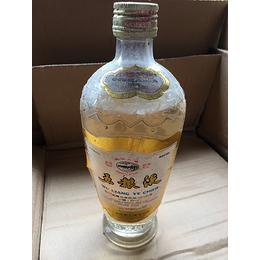 五粮液白标87年五粮液玻璃瓶
