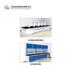校具  中央实验台  钢木结构