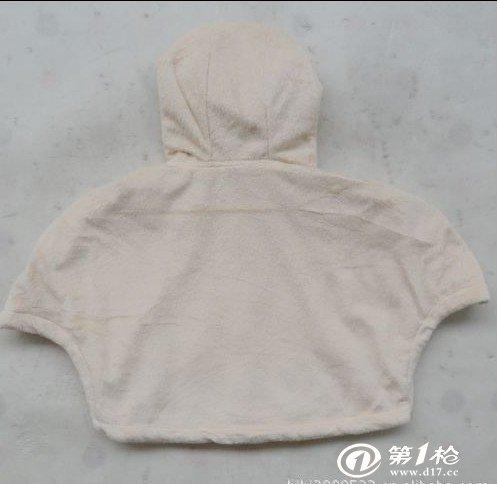 外贸童装批发婴童装秋冬珊瑚绒斗篷男女童装外套