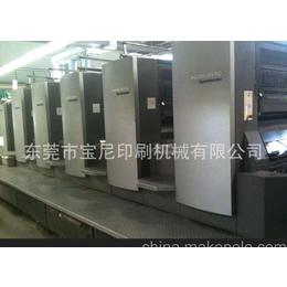 2004年进口海德堡CD102-5色加过油印刷机