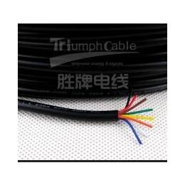 中山厂家库存直销8芯线,UL2464-24AWG 过粉PVC电源线 护套线