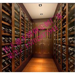不锈钢彩色恒温酒柜 镜面拉丝红酒架 佛山伟天盛