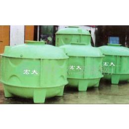 供应食品级圆柱型组合玻璃钢水箱(图)