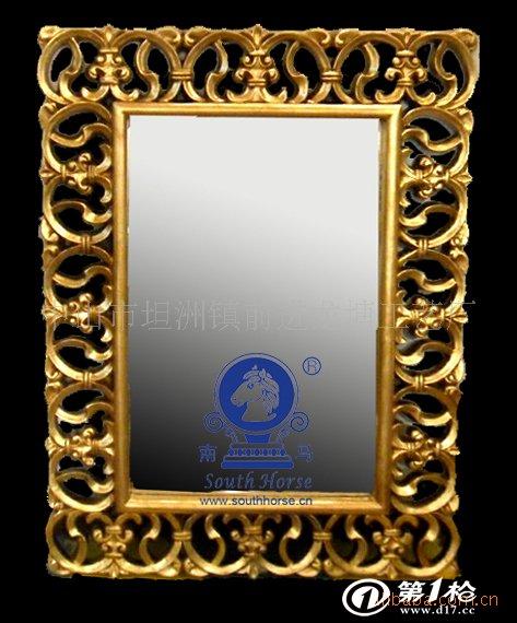 镜框,镜架 镜框 画框 高档镜 pu欧式镜 浴室镜 田园镜 化妆镜 pu镜子