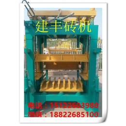 天津建丰液压砖机制砖
