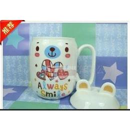 供应 厂家直销 卡通熊猫陶瓷杯(<em>黄</em>)马克杯 创意陶瓷<em>杯子</em> 陶瓷杯