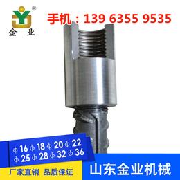 厂家直销河南省洛阳市钢筋连接套筒 14直螺纹套筒