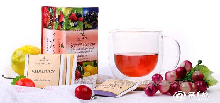 mecsek混合水果茶[森林杂果/黑醋栗/野樱桃/柠檬] 批发供应