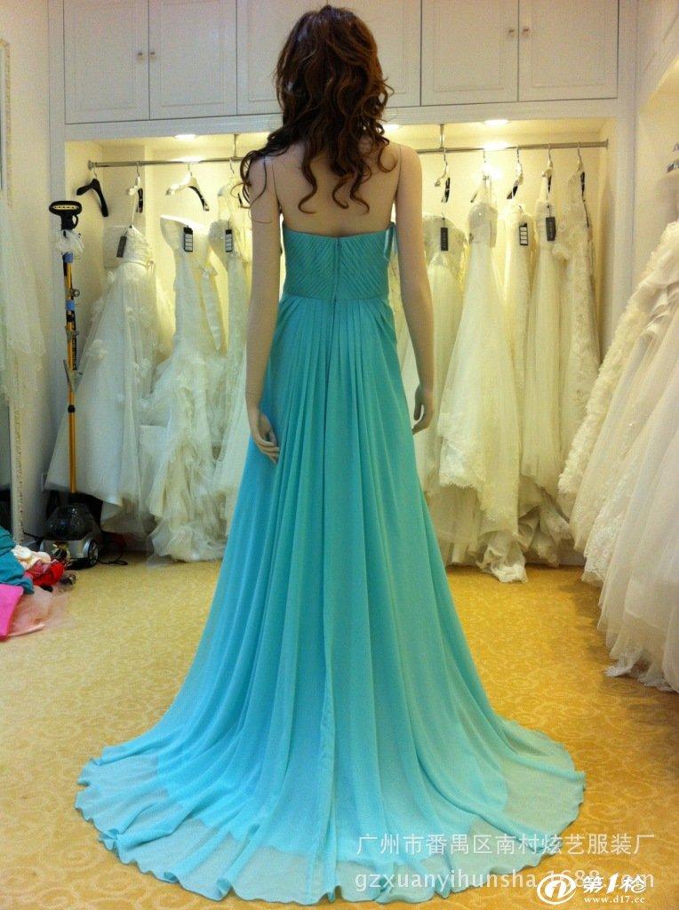 晚礼服 婚纱礼服 晚宴服装,广州厂家定做批发