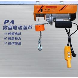 河北电动葫芦厂家 河北悍象PA微型电动葫芦制造生产厂家