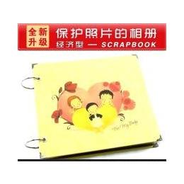 韩国手工相册DIY粘贴式影集相簿像册scrapbook 宝宝儿童成长记录