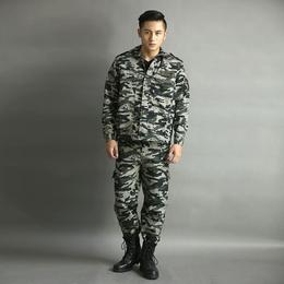 冬季纯棉<em>户外</em>工装劳保服长袖外套防寒保暖可定制