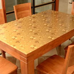 3d立体水晶板软玻璃朔料桌垫 台布 防水免洗餐桌布
