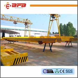 供应拉龙门吊配套KPDZ低压轨道电动平车-轨道过跨平车