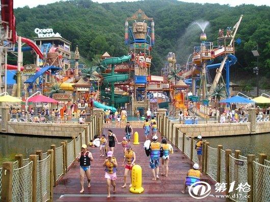 亚洲顶级水上乐园丽水冒险岛水世界清凉一日游
