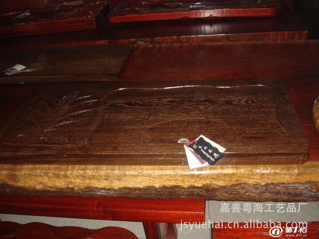 花梨木,鸡翅木,黑檀木,黄檀木等大板桌,红木工艺品