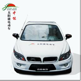 中能ZN-DDC01太阳能电动车宝马款四轮电动车