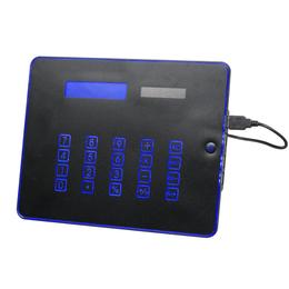 厂家供应多功能鼠标垫IPAD外形带背光的计算器HUB鼠标垫