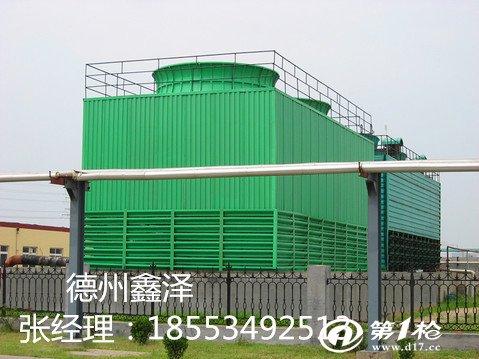 原理    采购冷却塔设计为横流式超低噪声玻璃钢冷却