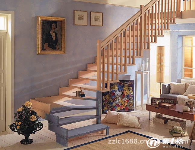 实木楼梯,钢木楼梯,木楼梯