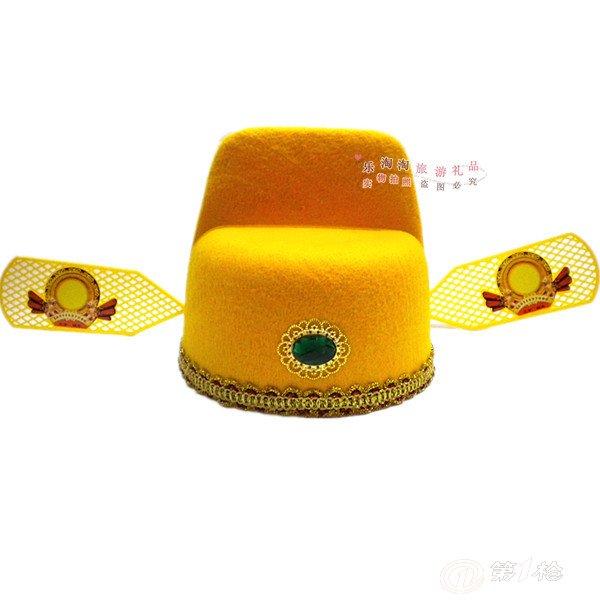 厂家直销乌纱帽(红)/县官帽/状元帽子批发道具/儿童帽