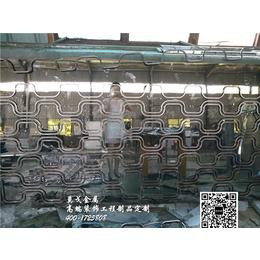 方管焊接不锈钢屏风花格杭州屏风厂家定制-杭州莫戈金属有限公司