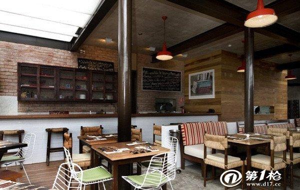 武汉工装设计 西式餐饮店装修风格